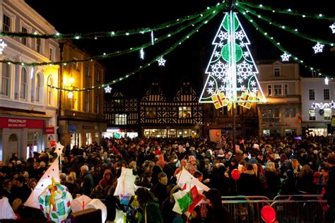 christmas lights in shropshire switch on guide 2016