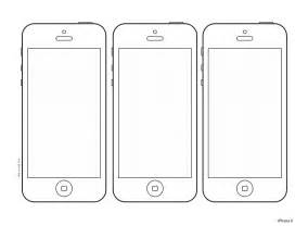iphone 5 design template