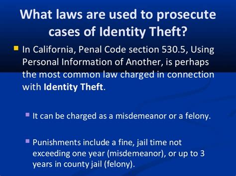 penal code section 459 identity theft horowitz law