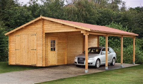 What Is A Car Port by How To Build Wooden Carport Tips For Wooden Carport Owners Garden