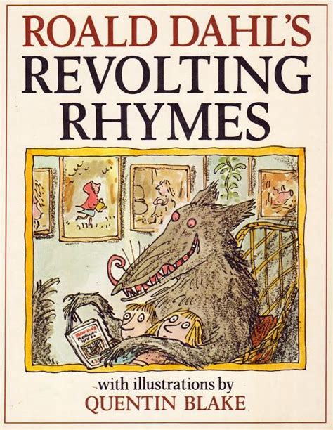 libro quentin blakes nursery rhyme best 25 roald dahl revolting rhymes ideas on