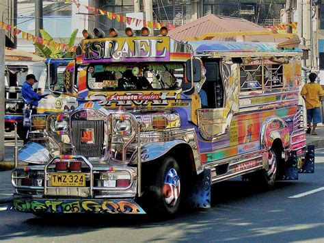 philippine jeep colorful jeepney jeepneys are a primary means of public