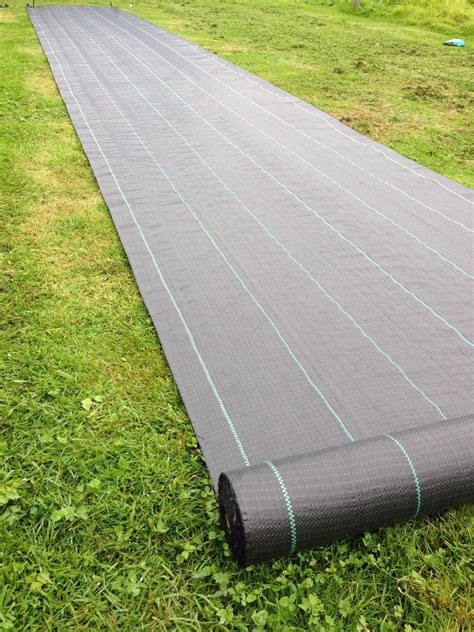 Landscape Fabric Wide Yuzet 100g 1m Wide Fabric Ground Cover