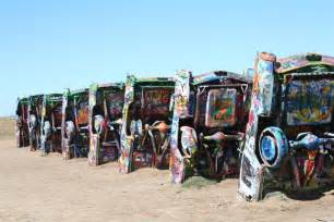 Where Is Cadillac Ranch Cadillac Ranch Information On Collecting Cars