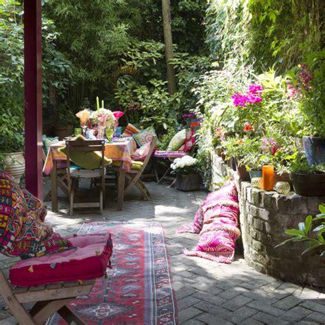 Moroccan Garden Ideas Small Patio Spaces For Your Outside Garden Area Ideal Home