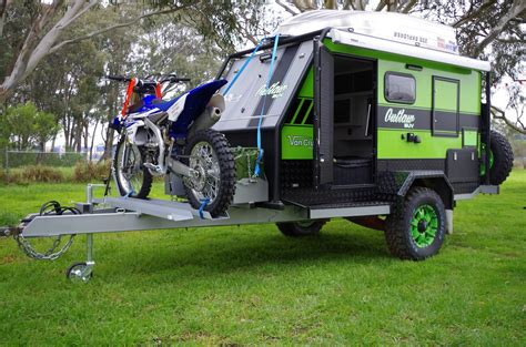 offroad teardrop cer motorbike carrying caravan popular motorbike 2017