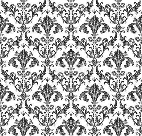 a seamless repeating retro floral seamless wallpaper background floral vintage stock vector