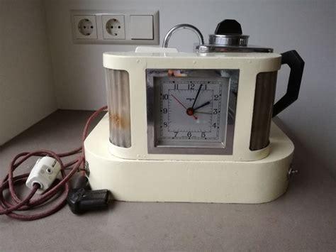 goblin teasmade d20 tea maker quot teasmade quot with alarm clock l and clock