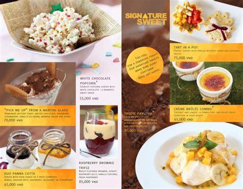 design dessert menu 40 best ideas about menu ideas on pinterest red lobster