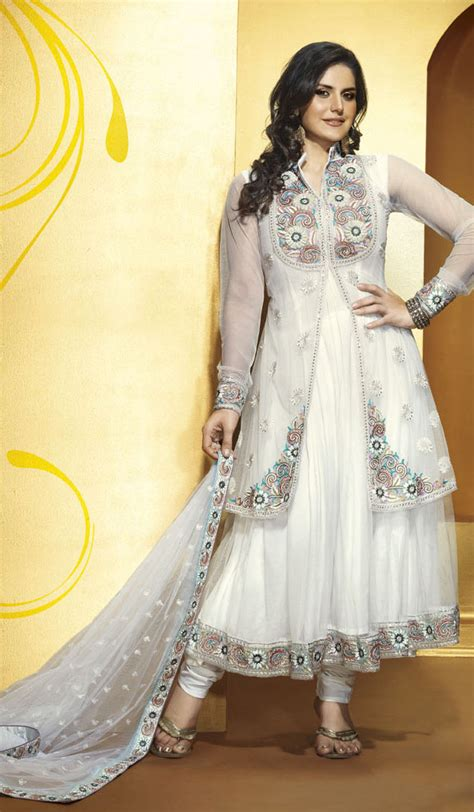 White Frock For Wedding by 30 And Beautiful Frocks Designs Style Arena