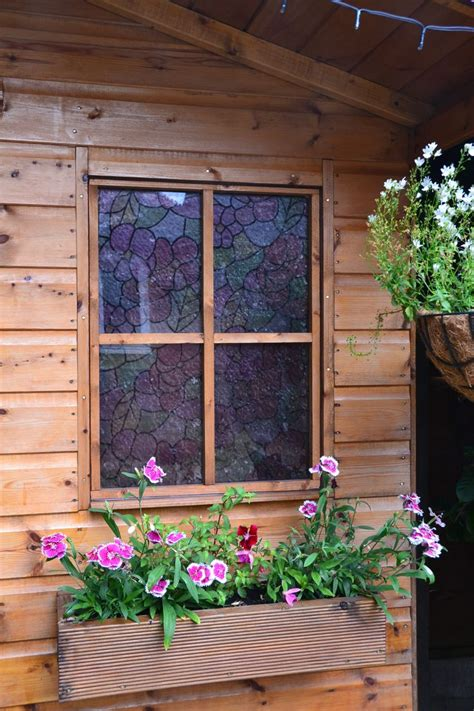 red shed home decor d c fix 174 lisboa red stained glass effect window film for