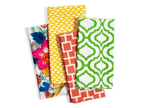 Handmade Napkins - 7 diy cloth napkin projects from hgtv magazine hgtv