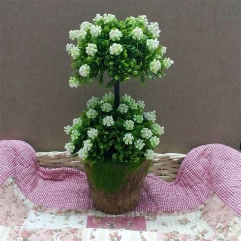 Am046 Limited Bunga Plastik Hias jual bunga bonsai susun dari plastik untuk hiasan ruangan