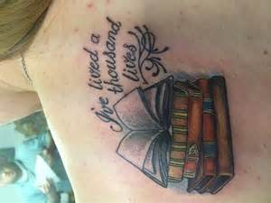 second tattoo this ones on my shoulder quot i ve lived a