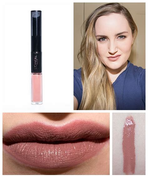 L Oreal Infallible 2 Step Lipcolor l oreal infallible 2 step lip color in neverending nutmeg