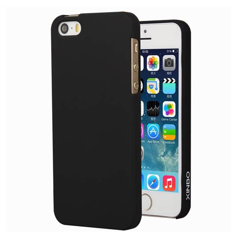 Iphone 5 5s Se for iphone 5 5s se luxury xinbo 0 8 mm slim plastic back cover for iphone 5 5s se