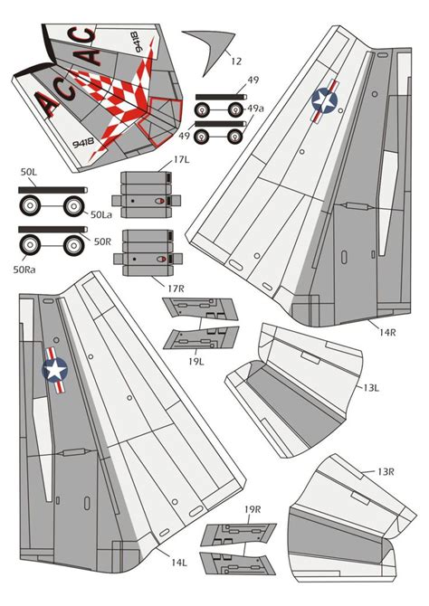 Viking Papercraft - s 3 viking 04 papercrafts aircraft vikings