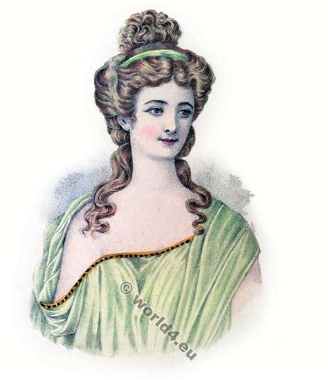 Ancient Greece Hairstyles by Album Of Historical Hairstyles Album De Coiffures