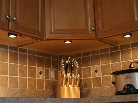 how to install light under kitchen cabinets installing under cabinet lighting hgtv