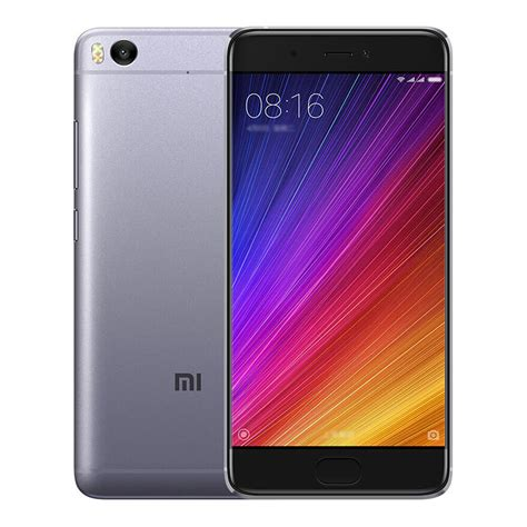 Xiaomi Mi5s Plus 6 128 Grey Black xiaomi mi 5s 4gb 128gb smartphone gray