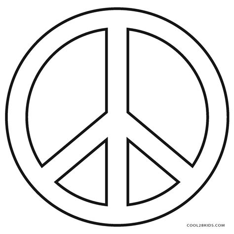 peace colours free printable peace sign coloring pages cool2bkids