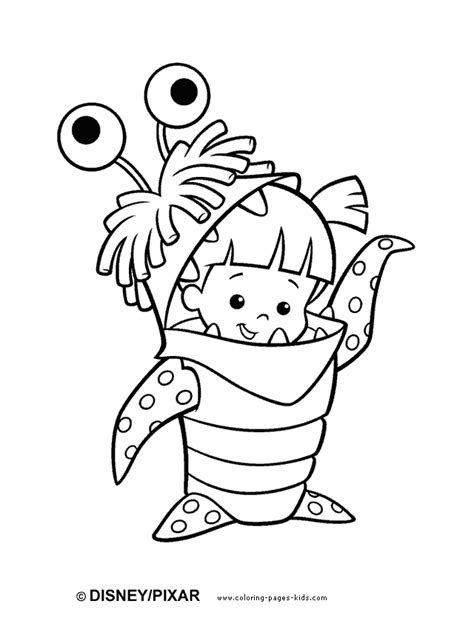 Monsters Inc Coloring Pages monsters inc coloring pages minister coloring