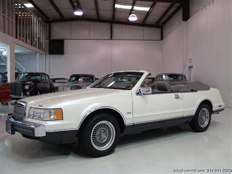 how make cars 1988 lincoln continental mark vii on board diagnostic system 1988 lincoln continental mark vii convertible daniel schmitt company