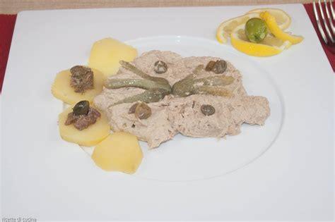 ricette cucina magatello di vitello vitello tonnato light ricetta francese antica ricette di