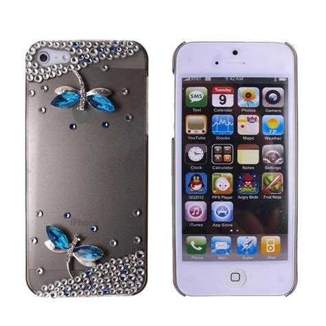 iphone 3d iphone 5 5s 3d bling cover skin for apple g3