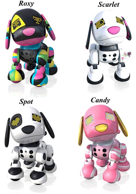 robot puppy zoomer 2014 top gifts presents for everyone zoomer