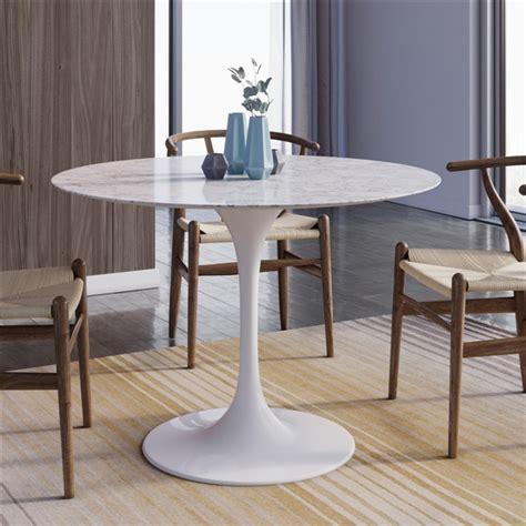 marble tulip dining table saarinen tulip marble dining table