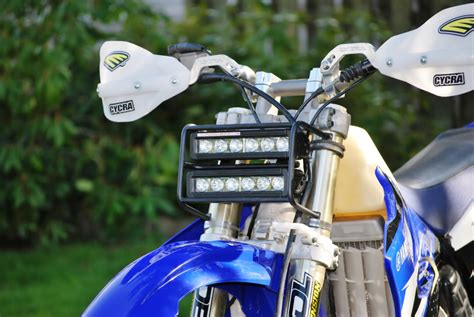 Lu Led Motor Mx New Baja Designs Crfx Led Headlight New Product Crf250x Thumpertalk