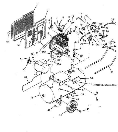 sears craftsman 919 176951 air compressor parts