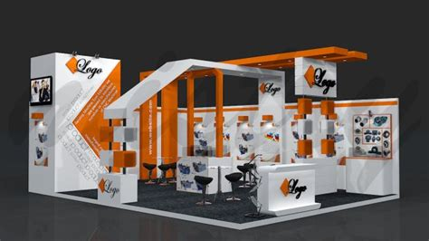side open exhibition stand design google search