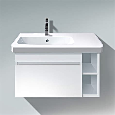 Bowl Basin Vanity Unit duravit durastyle 730mm vanity unit with bowl on left basin ds639401818