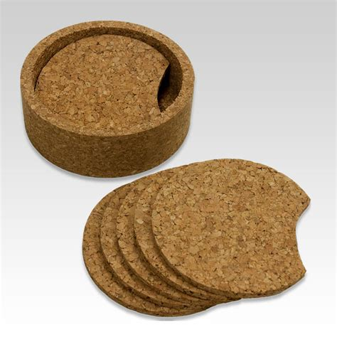 Drink Coaster cork coater set