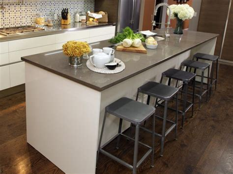 Kitchen Islands With Seating Kitchen Island Design Ideas With Seating Smart Tables Carts Lighting
