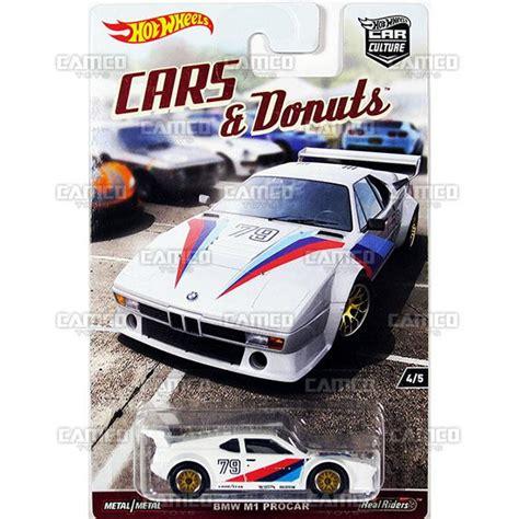 Hotwheels Bmw M1 Procar Cars And Donuts car culture 2017 wheels djf77 956 assortment camco toys