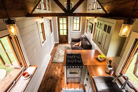Kitchen Craft Cabinets Tiny Living Features The Denali By Timbercraft Timbercraft Tiny Homes