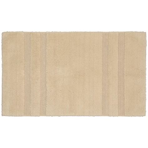 bathroom accent rugs garland rug majesty cotton natural 24 in x 40 in