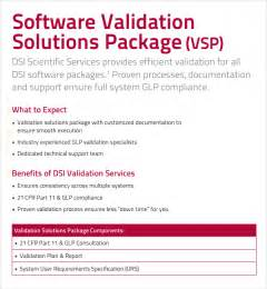 software validation plan template sle validation plan template 9 free documents in pdf