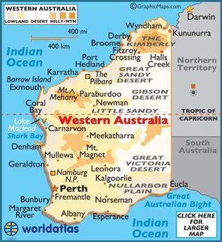 map of western australia western australia map geography of western australia