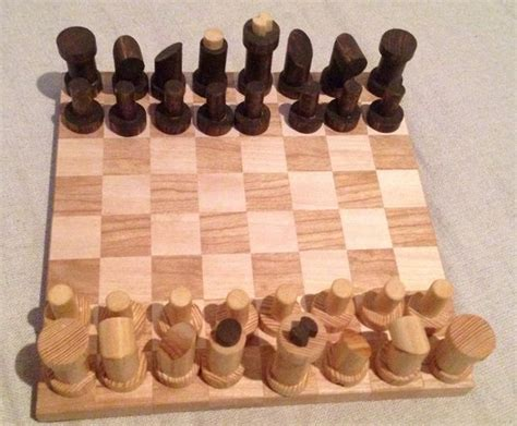 diy chess board 6 chess game from scrap diy
