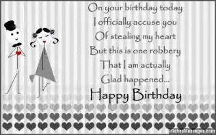 birthday wishes for boyfriend quotes and messages sms text messages