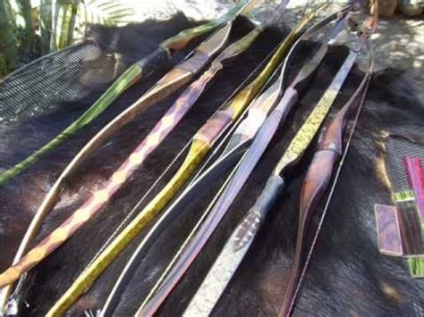 Handcrafted Longbows - bushmen custom longbows