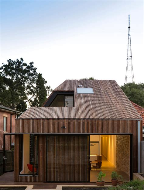 home design architecture blog cut away roof house a contemporary timber clad 2 storey addition by scale architecture