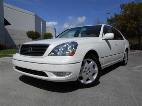 cool ls for sale sell used 2003 lexus ls 430 55k miles navigation 1 owner
