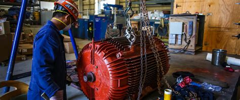 electric motor overhaul grand bahama shipyard