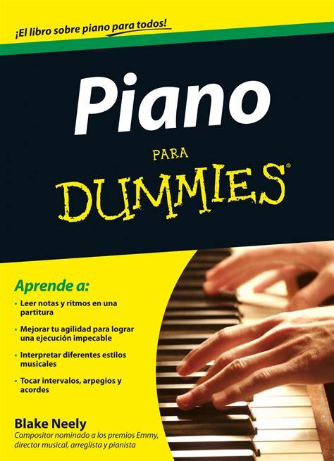 piano para dummies descargar libros pdf