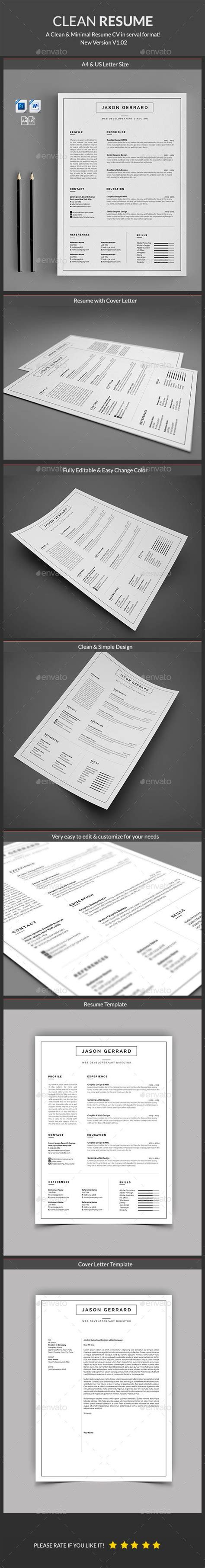 resume template psd ms word here http